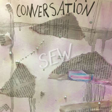 "Detail of ""This Is Not A Conversation"""